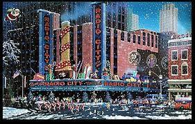 Santa comes to New York