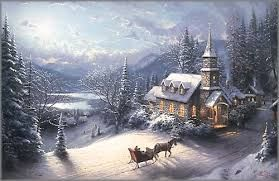 Sunday Evening Sleigh Ride - Discounted Artwork