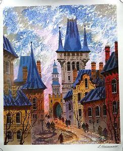 Street of Old Prague - Discounted Artwork