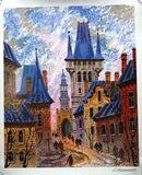 Street of old Prague