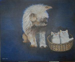 Le Dog und le Pus Pus
