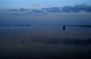 Walk on the Lake