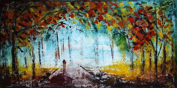 Lonely Fall - EBONY ART
