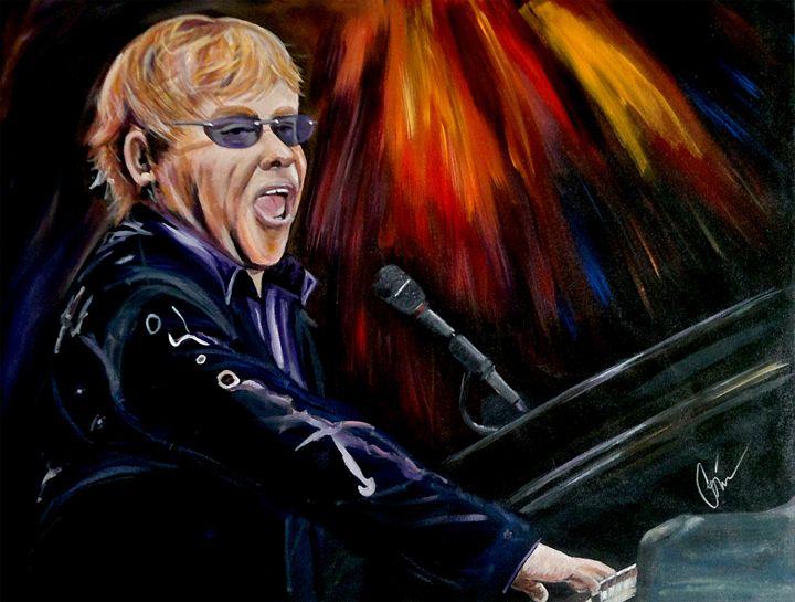 Rocket Man - Elton John - CorinaGallery