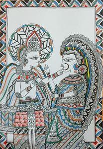 Radha - Krishna Romancing