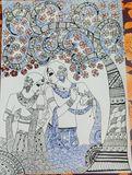 Madhubani folk original art