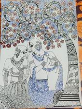 Madhubani Folk Art.