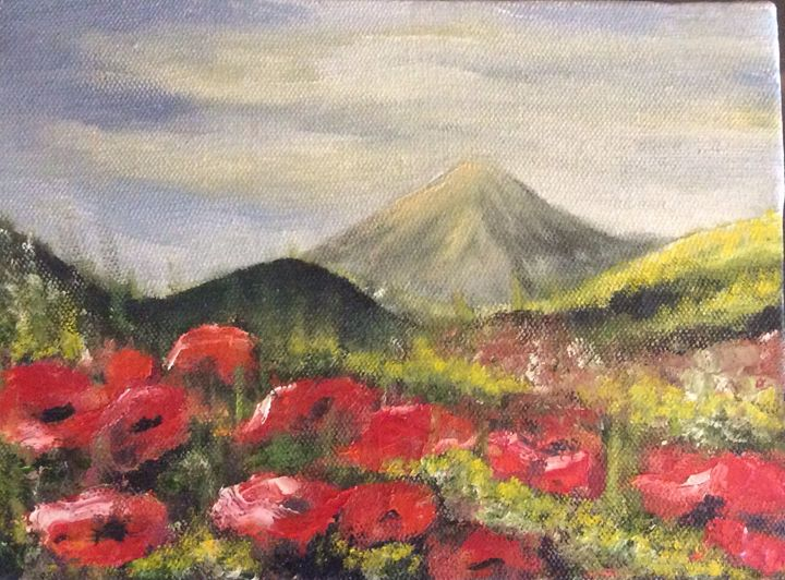 Damavand mountain - Shahrzad art