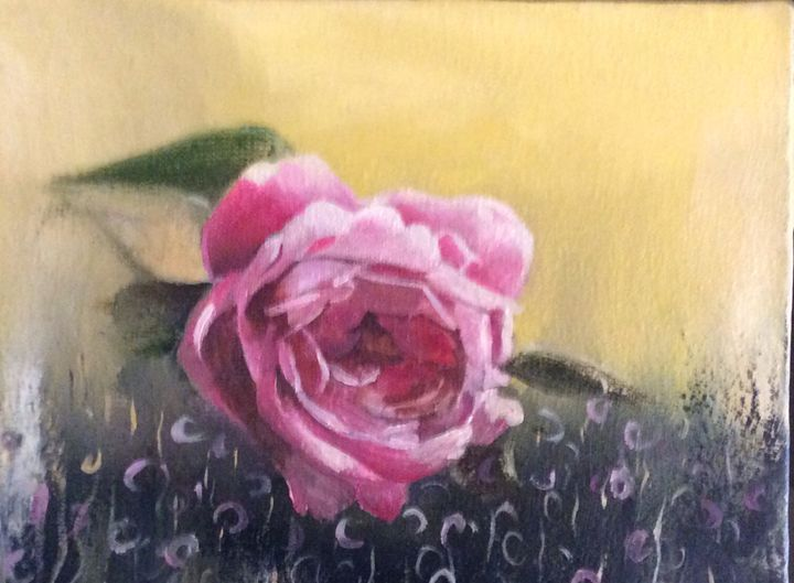 Pink rose - Shahrzad art