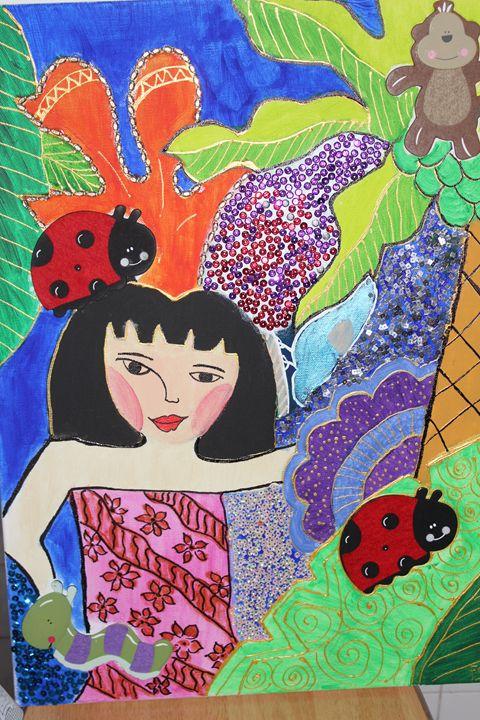 Jungle Ilustration - Fadila Painting Art Gallery