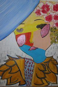 English Women - Fadila Painting Art Gallery