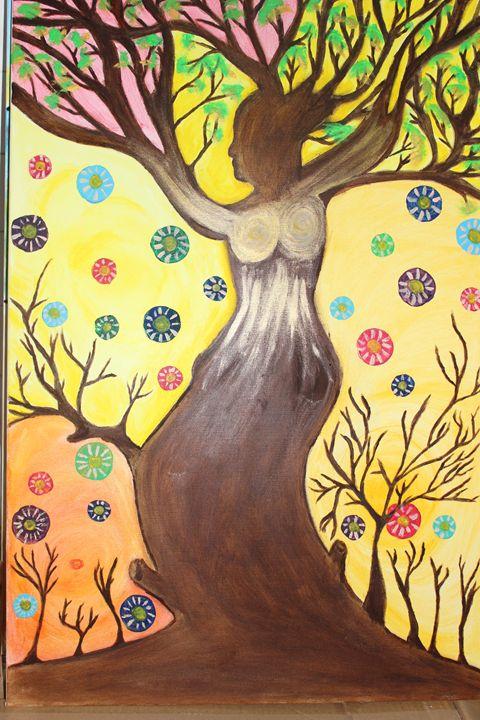 Women's Tree - Fadila Painting Art Gallery