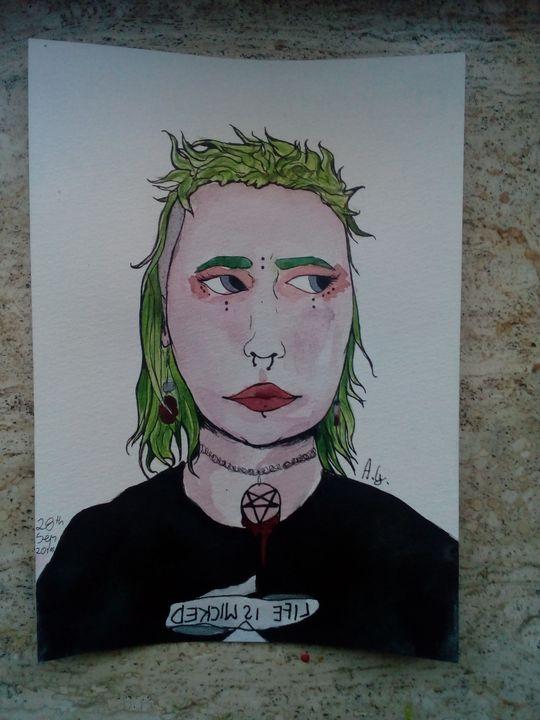 @_naatti_ - Rock 'n' Roll Art