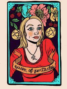 Regina Queen of Pentacles