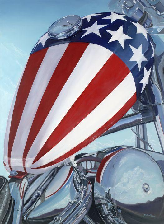 Captain America - art by dzwill