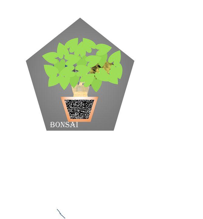 Bonsai Art Dr M M Sheikh Smiftikhar Paintings Prints Flowers Plants Trees Plants Bonsai Artpal