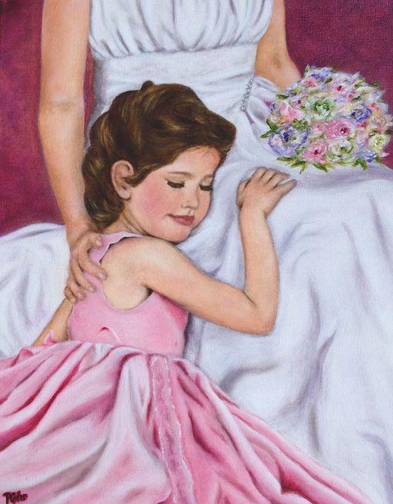 The Littlest Wedding Belle - Dr Pat's Art