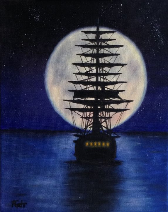 Sailing into Fantasy - Dr Pat's Art