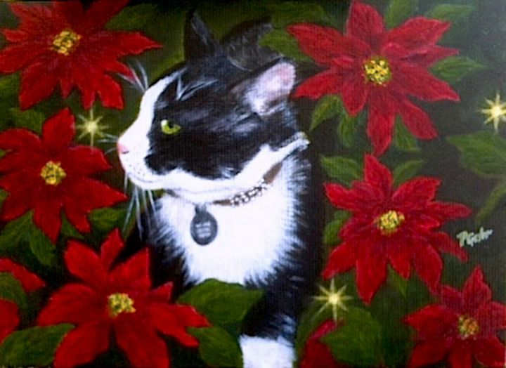 Magical Christmas for Max - Dr Pat's Art