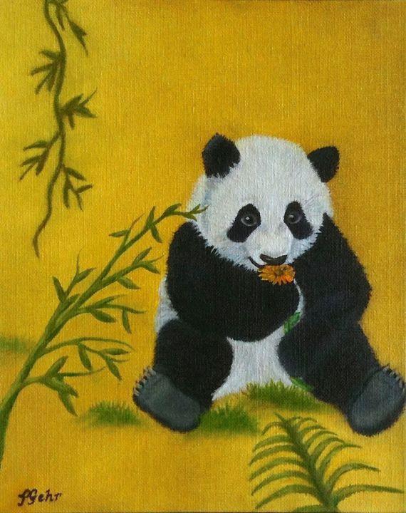 Panda Power - Dr Pat's Art