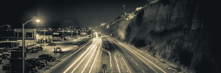 Racing Through Santa Monica - Landscapes - The Visua1 Artist