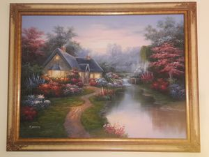C Jaffey oil on Canvas