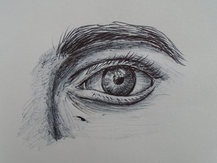 Eye Sketch - KM Studio