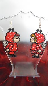 Valentine Love Bug Earrings