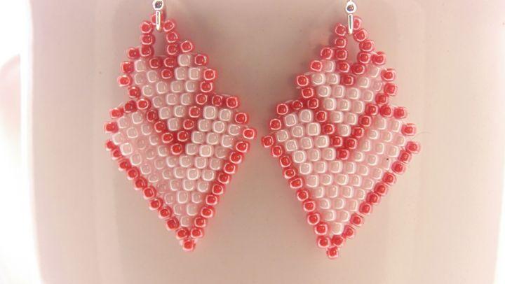 Double Heart Earrings - Designs By SEA