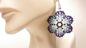 Huichol Flower Earrings
