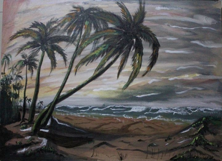 The coconut beach - UD artworks