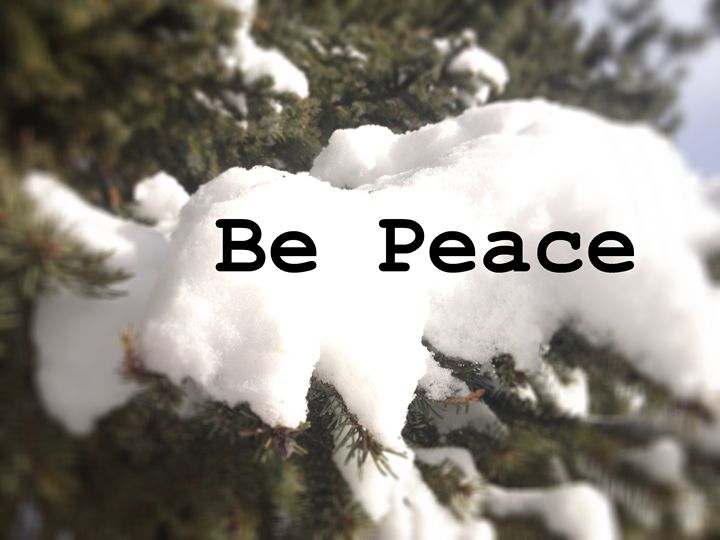 Be Peace - Zen Journey Photography - Zen Journey