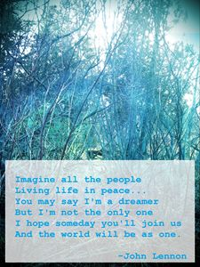 Imagine All the People Life in Peace