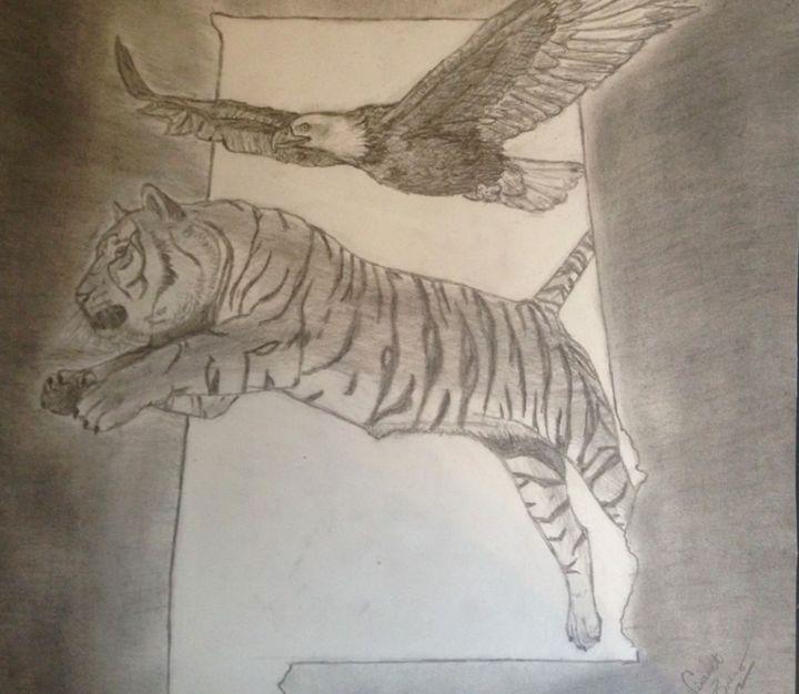 Flying with Tiger - Vincent Paul Bruno JR.