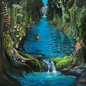 River to Eden - Lisa's Art Gallery