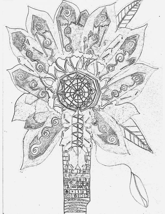 Ancient Shaman's Wand - Activated Artwork