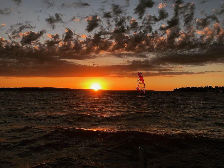 Sunset Sail - Ashers Art