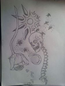 Art for tatt or design.