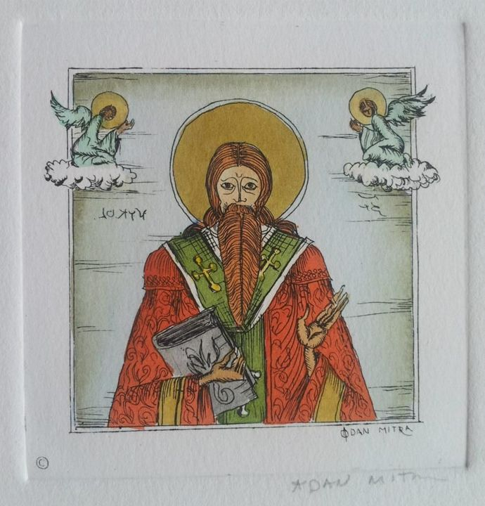 Religious Series #9 - Dan Mitra