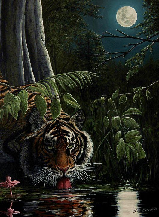 Tiger, king of the night - JJ Serra