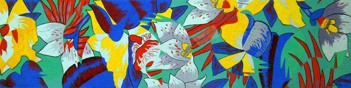 Abstract Flowers - Robert Rombeiro