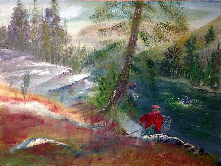 A Day Of Fishing - Robert Rombeiro