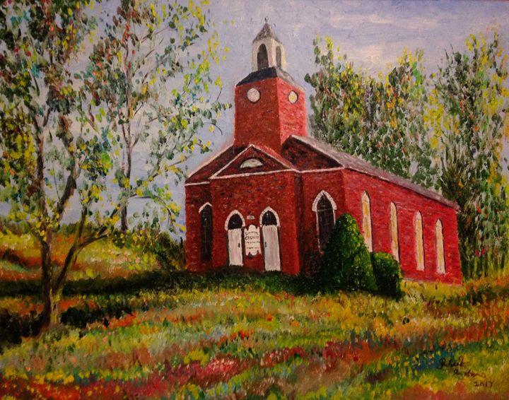 The Canaan N.Y Congregational Church - Robert Rombeiro