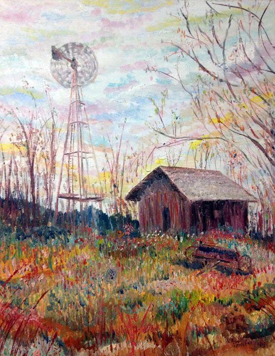 Old wind Mill - Robert Rombeiro
