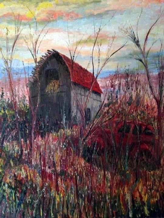 Where scarecrows use to dance. - Robert Rombeiro