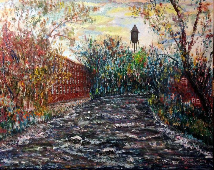 Housatonic Mills On The River - Robert Rombeiro