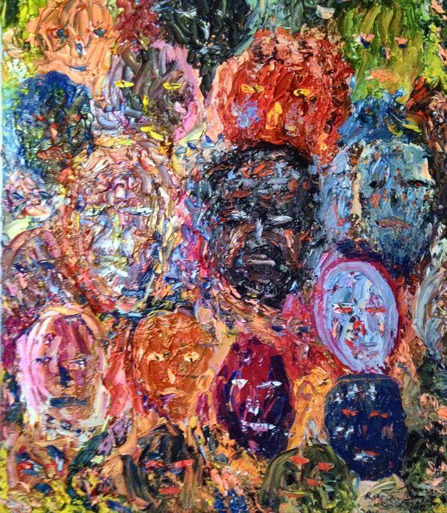 Faces of Regret - Robert Rombeiro