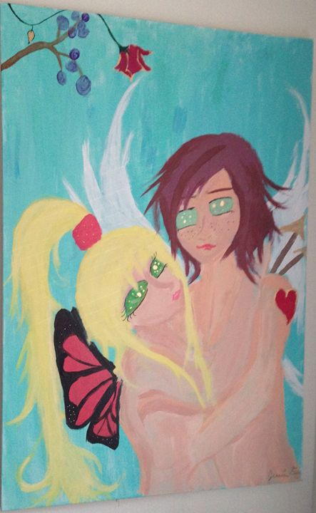 Eros and Psyche at Last - jessica endsley