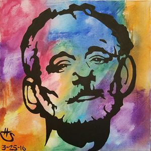 Bill Murray tie-dye