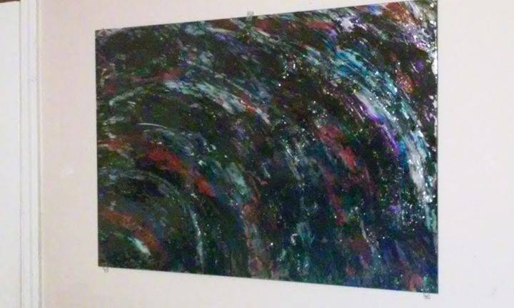 GALAXY - Abstract Art By Magnus